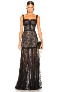 ALEXIS Kieran Black Dress