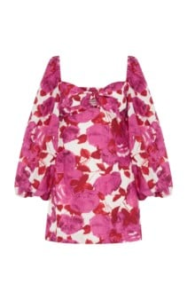 ALICE MCCALL Lover To Lover Printed Mini Print Dress 3