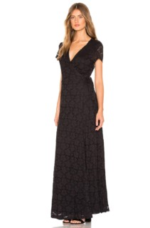 AMUSE SOCIETY Great Lengths Black Dress 2