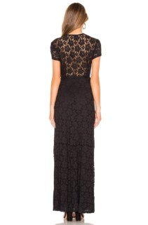 AMUSE SOCIETY Great Lengths Black Dress 3