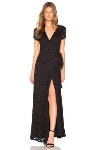 AMUSE SOCIETY Great Lengths Black Dress
