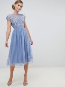 ASOS-DESIGN-Embellished-Open-Back-Tulle-Midi-Blue-Dress