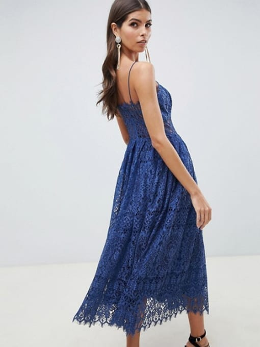 ASOS-DESIGN-Lace-Cami-Midi-Prom-Deep-Blue-Dress-2
