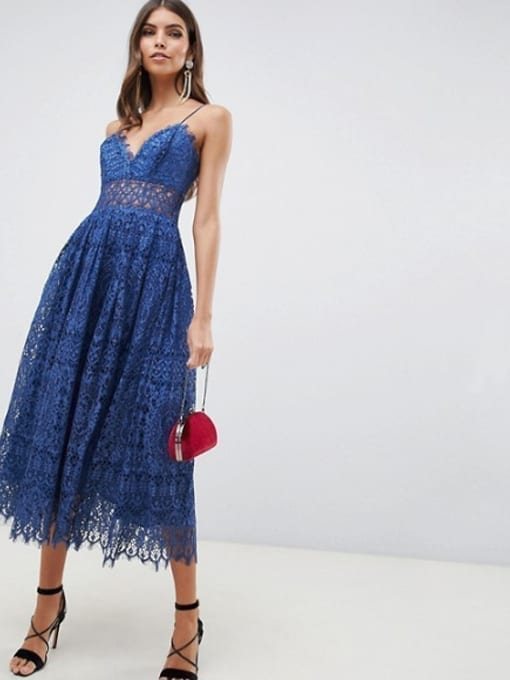 ASOS-DESIGN-Lace-Cami-Midi-Prom-Deep-Blue-Dress-4
