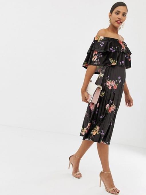 ASOS-DESIGN-Printed-Velvet-Double-Ruffle-Pleated-Midi-Multi-Dress-3