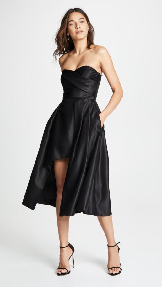 BLACK HALO Caine Black Dress