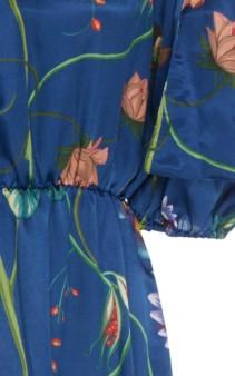 BORGO DE NOR Rosa Floral-Print Silk-Georgette Maxi Dress 5