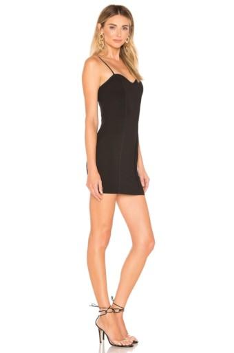 BY THE WAY Gela Mini Black Dress 2