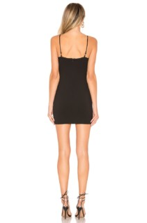 BY THE WAY Gela Mini Black Dress 3