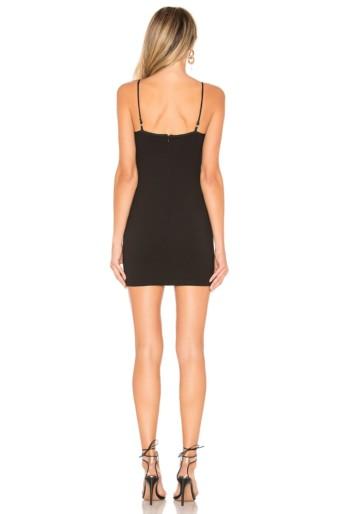 BY THE WAY Gela Mini Black Dress 3