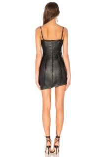 BY THE WAY Maritza Asymmetrical Black Dress 3