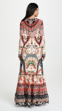 CAMILLA Cross Front Maxi Multi Dress 2
