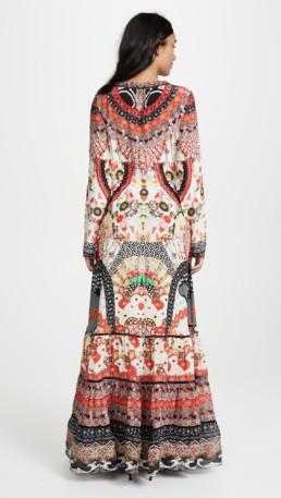 CAMILLA Cross Front Maxi Multi Dress 2