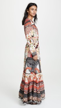 CAMILLA Cross Front Maxi Multi Dress 3