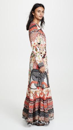 CAMILLA Cross Front Maxi Multi Dress 3