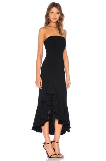 CINQ A SEPT Gramercy Black Dress 2