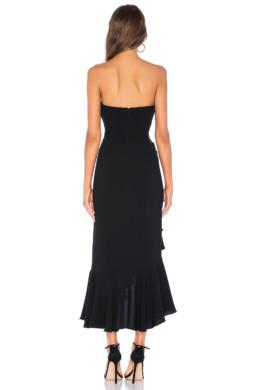 CINQ A SEPT Gramercy Black Dress 3