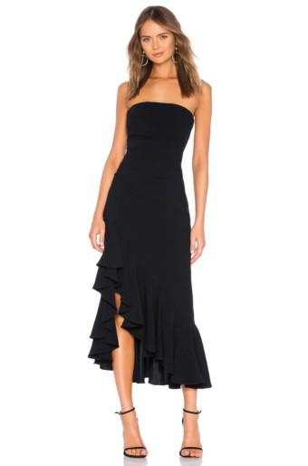 CINQ A SEPT Gramercy Black Dress
