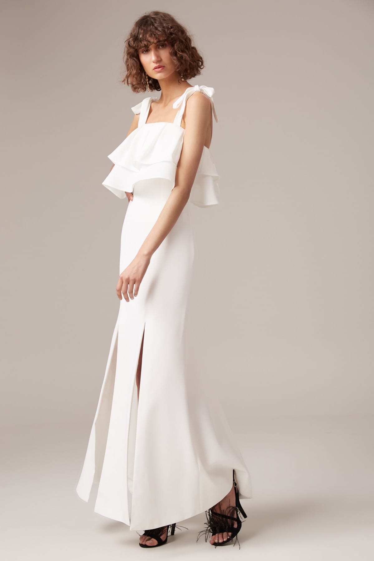 CMEO COLLECTIVE Be About You Ivory Gown 2