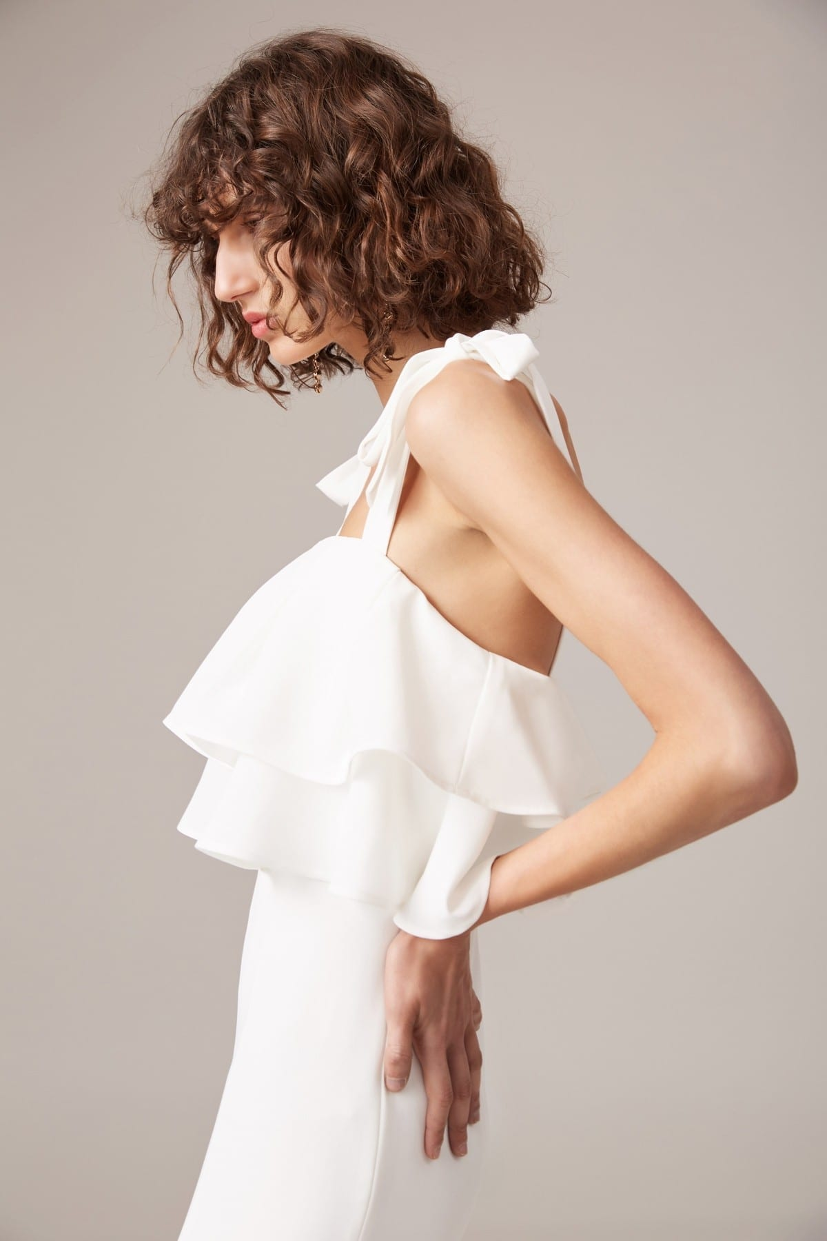 CMEO COLLECTIVE Be About You Ivory Gown 3