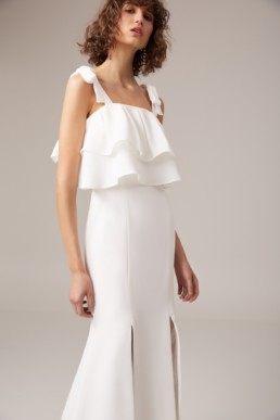 CMEO COLLECTIVE Be About You Ivory Gown 4