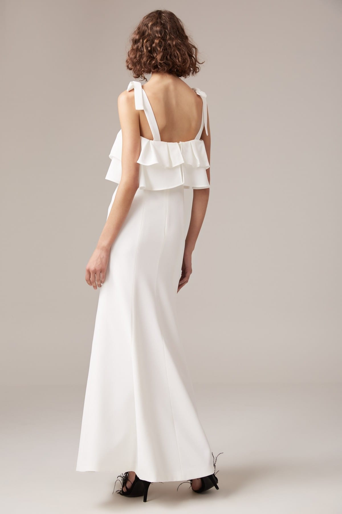 CMEO COLLECTIVE Be About You Ivory Gown 5