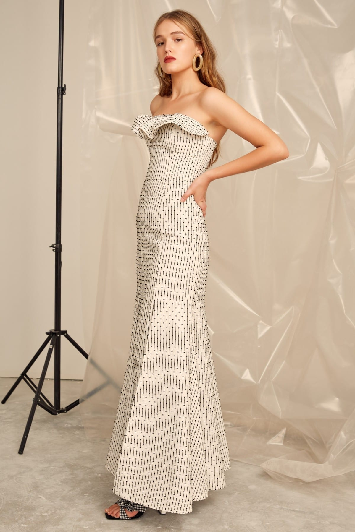 CMEO COLLECTIVE Even Love Ivory Gown 3