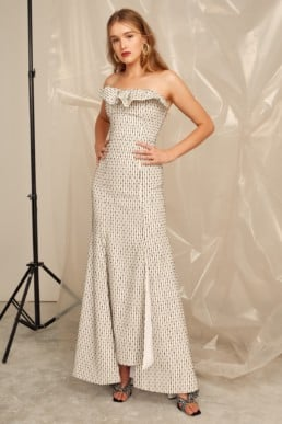 CMEO COLLECTIVE Even Love Ivory Gown