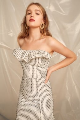 CMEO COLLECTIVE Even Love Ivory Gown4