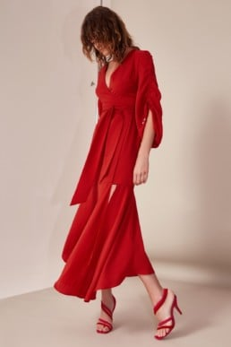 CMEO COLLECTIVE Favours Red Gown
