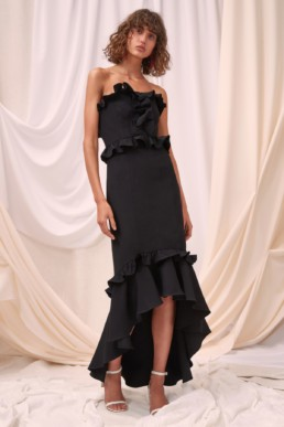 CMEO COLLECTIVE Forgive Black Gown 3