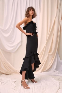 CMEO COLLECTIVE Forgive Black Gown 4