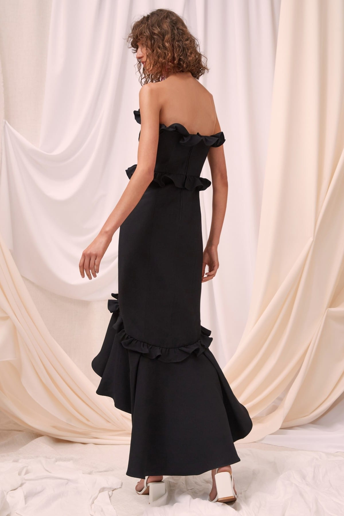 CMEO COLLECTIVE Forgive Black Gown 5