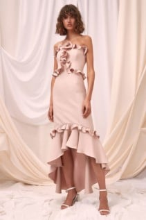 CMEO COLLECTIVE Forgive Shell Gown 3