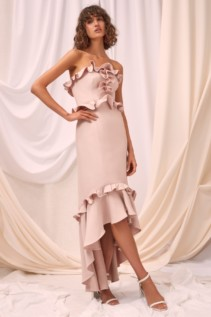 CMEO COLLECTIVE Forgive Shell Gown 4