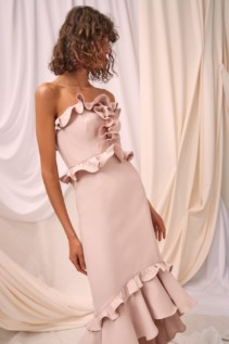 CMEO COLLECTIVE Forgive Shell Gown 5