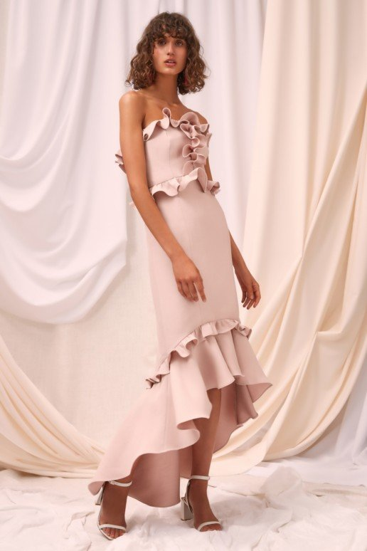 CMEO COLLECTIVE Forgive Shell Gown