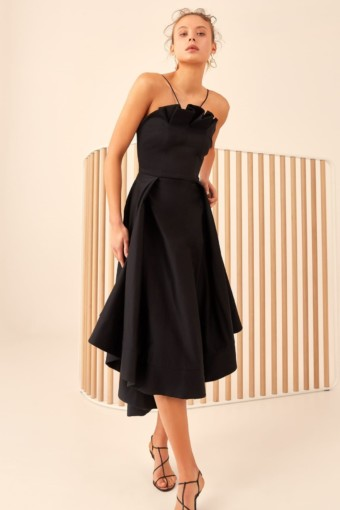 CMEO COLLECTIVE Only With You Black Gown 3