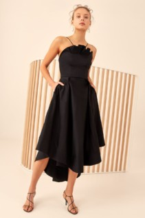 CMEO COLLECTIVE Only With You Black Gown