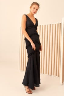 CMEO COLLECTIVE Thousand Times Black Gown 3