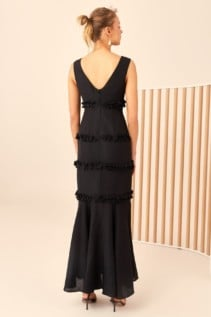 CMEO COLLECTIVE Thousand Times Black Gown 6