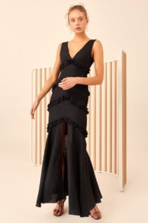 CMEO COLLECTIVE Thousand Times Black Gown
