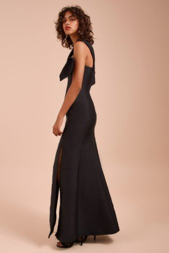 CMEO COLLECTIVE Totality Black Gown