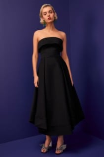 CMEO COLLECTIVE Visceral Black Gown 2