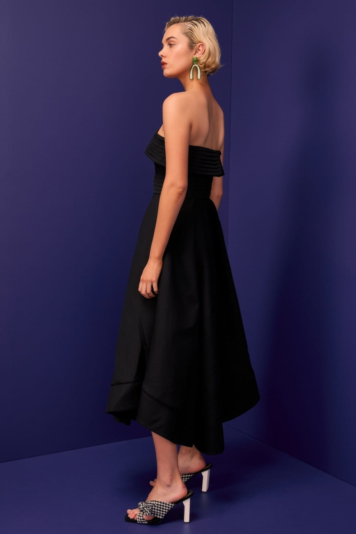 CMEO COLLECTIVE Visceral Black Gown 4