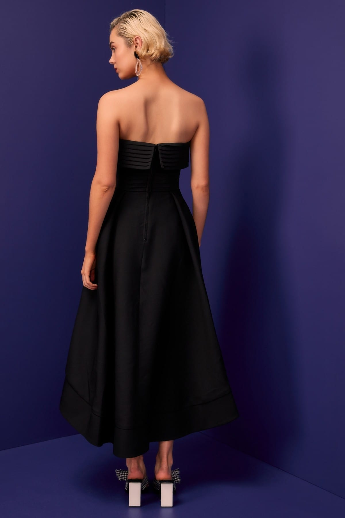 CMEO COLLECTIVE Visceral Black Gown 5