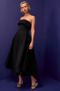 CMEO COLLECTIVE Visceral Black Gown