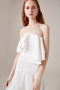 CMEO COLLECTIVE With You Ivory Gown 4