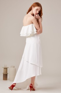 CMEO COLLECTIVE With You Ivory Gown 5