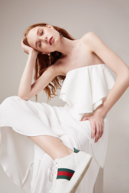 CMEO COLLECTIVE With You Ivory Gown 6